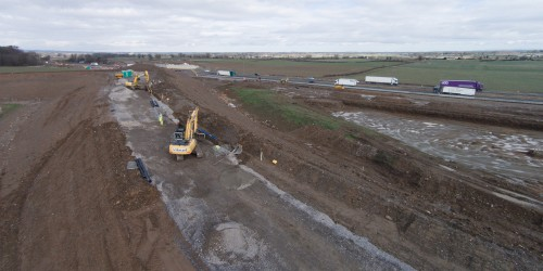 Just a few of the many ground and aerial shots we did for one of our construction industry clients