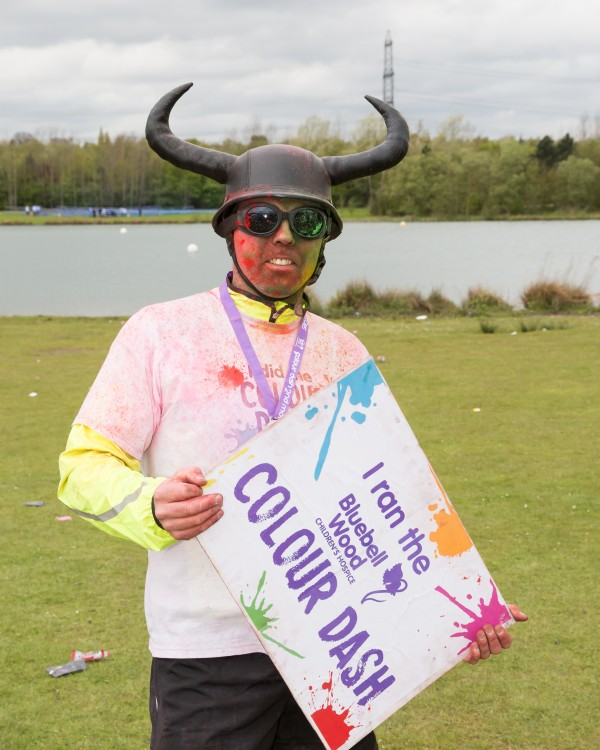 event photography Bluebell Colour Dash