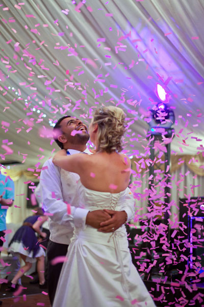 bride-and-groom-first-dance-confetti-wedding-photographer-sheffield