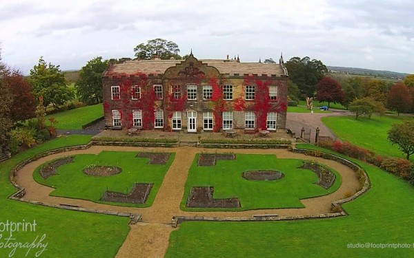 Woolley Hall in the autumn