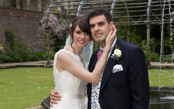 Wedding & Aerial photography at Hassop Hall