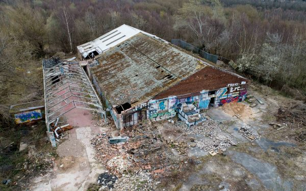 Drone Survey of Old Buildings and 4 Acres of Land