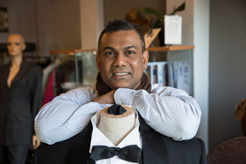 Commercial Photography Sheffield for Manoj Bespoke Tailor