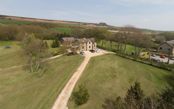 "Aerial Photography for ""Property Partners"" at The Lodge – Hollow Meadows"