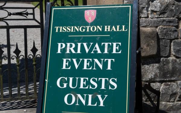 Tissington Hall Wedding with Aerial Photos too