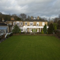 aerial photography ringwood hall