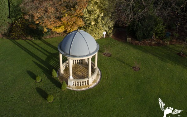 Aerial Photography at Ringwood Hall