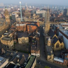 aerial photos of sheffield