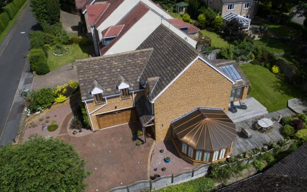 Aerial photography for an estate agent