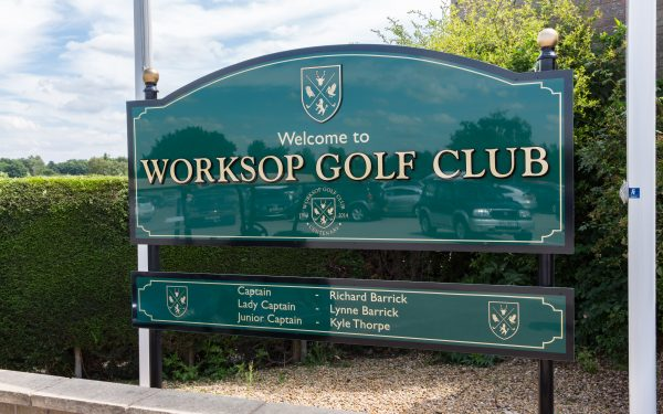 Ground and Aerial Photography of Worksop Golf Course