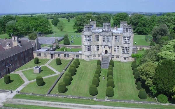 Aerial Video for Barlborough Hall School / Mount St Mary's College