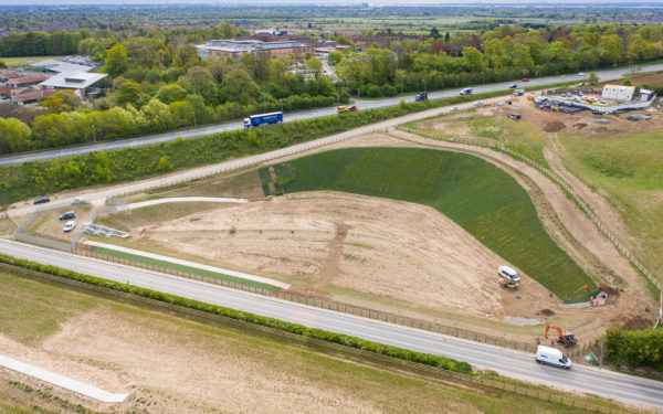 Drone Video of Huge Civils Project