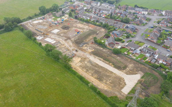 Drone video for Rockliffe Homes – New Housing Estate