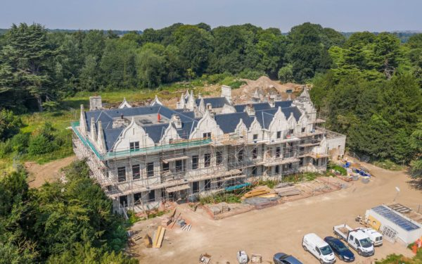Aerial video of Firbeck Hall – August 2020
