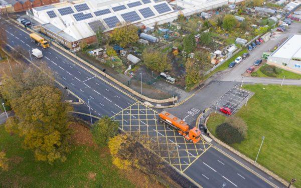 Drone and GoPro Hero 9 Hyperlapse for Howard Civil Engineering