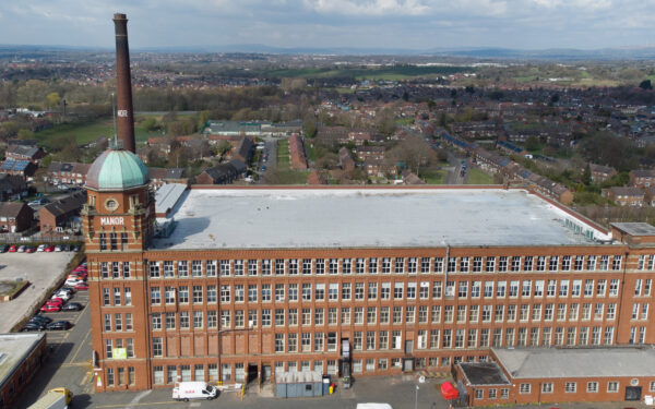 Manor Mill in Oldham with the DJI Mini 2