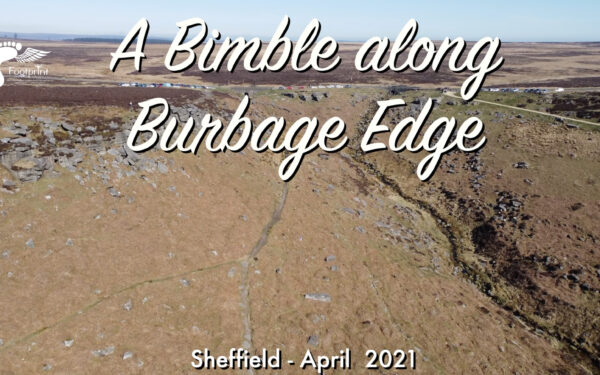Drone video at Burbage Edge in Sheffield with the DJI Mini 2